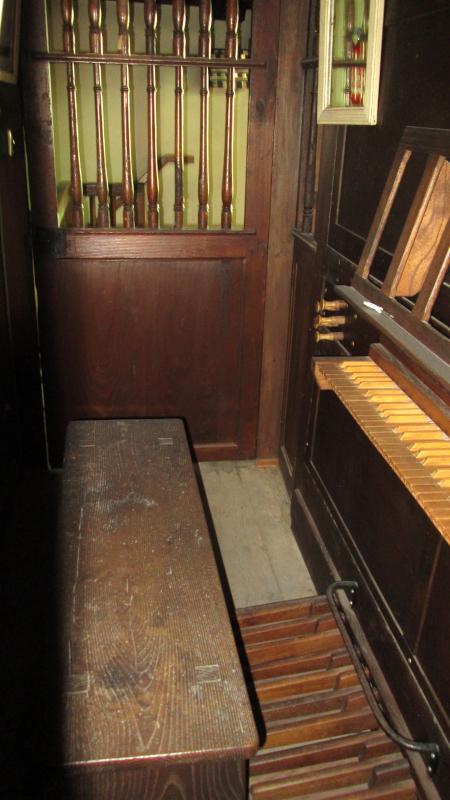 L'orgue actuel de l'église saint Laurent de Cambo est un petit instrument du XIX ème siècle du gabarit des orgues de salon et il peine à remplir son rôle de soutien à la liturgie et se révèle impropre à toute utilisation en concert