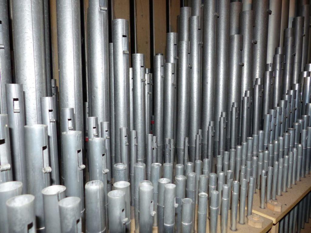 Exemple de jeu d'orgue pour le parrainage de l'orgue de Cambo